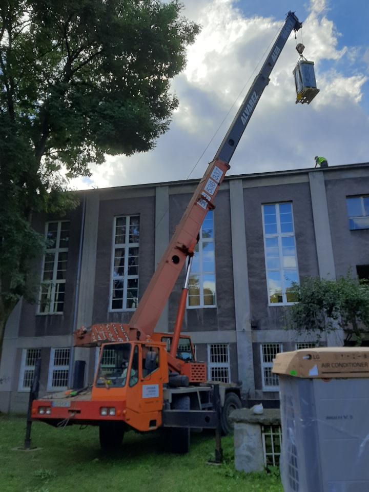 Usługi Dźwigowe Gdańsk budowa 1