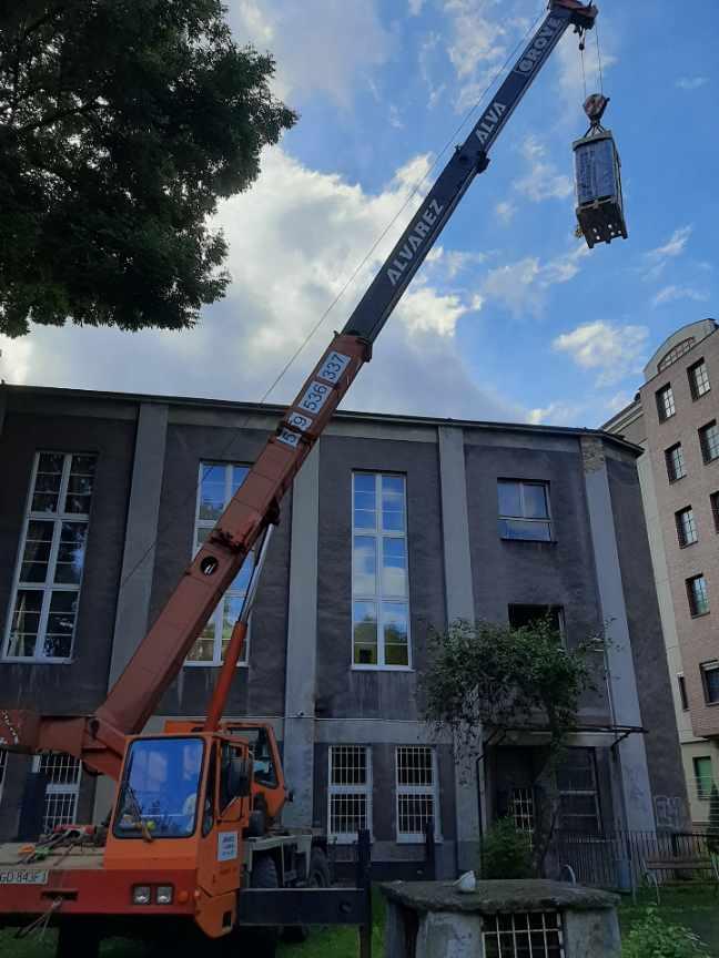 Usługi Dźwigowe Gdańsk budowa