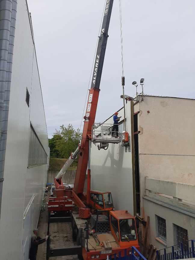 Usługi Dźwigowe budowa